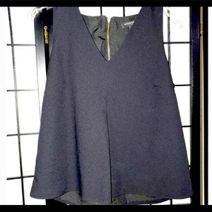 New with tags, Banana Republic Front pleat 3/4 zip